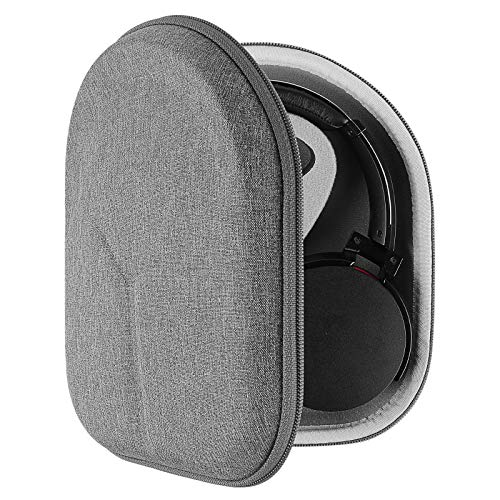 Geekria UltraShell Headphone Case for Sony WH-CH700N, WH-1000XM3, WH-1000XM2, WHXB900N, MDR-XB950BT, XB950N1, XB950B1, MDR-1A Headphones and More - Protective Hard Shell Headset Travel Carrying Bag