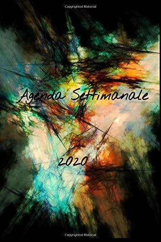 Agenda Settimanale 2020: A5 Agenda settimanale I planner settimanale I diario I scuola I agenda giornaliera (Italian Edition)