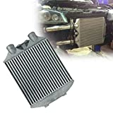 DiLiBee - Intercooler delantero (70 mm, aluminio, 60 psi)