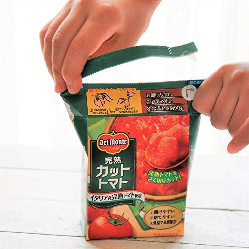 キッコーマンデルモンテ完熟カットトマト388g×6個