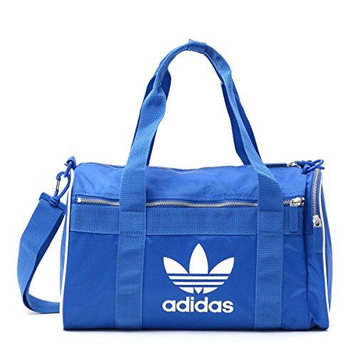 Adidas Duffle M AC Sac de Sport Grand Format, 25 cm, 35 liters, Bleu (Azucie)