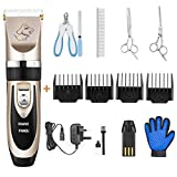 PANGU <span class='highlight'>Dog</span> <span class='highlight'>Clippers</span> <span class='highlight'>Professional</span> <span class='highlight'>Pet</span> <span class='highlight'>Grooming</span> Kit Low Noise, Rechargeable <span class='highlight'>Pet</span> Shaver Cordless Silent <span class='highlight'>Dog</span> Hair Trimmer with scissors comb Best Hair Clipper for <span class='highlight'>Dog</span>s Cats <span class='highlight'>pet</span>s