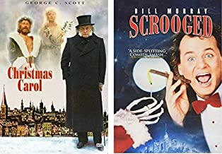 Scrooged & A Christmas Carol - Holiday DVD pack - George C. Scott & Bill Murray