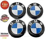 4x BMW 68 mm Nabenkappen für Alufelgen Felgendeckel 68mm Nabendeckel Nabenabdeckungen Nabenkappe 36136783536 4 Stück kompatibel zu BMW 1er 2er 3er 4er 5er 6er 7er 8er X1 X3 X4 X5 X6 Z3 Z4...