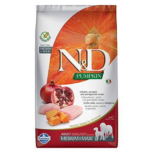 Farmina N&D Hund Pumpkin Huhn & Granatapfel Adult Medium&Maxi 2,5kg
