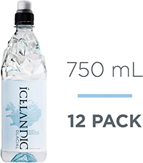 Icelandic Glacial Natural Spring Alkaline Water, 25.36 Fl Oz (12 Count)