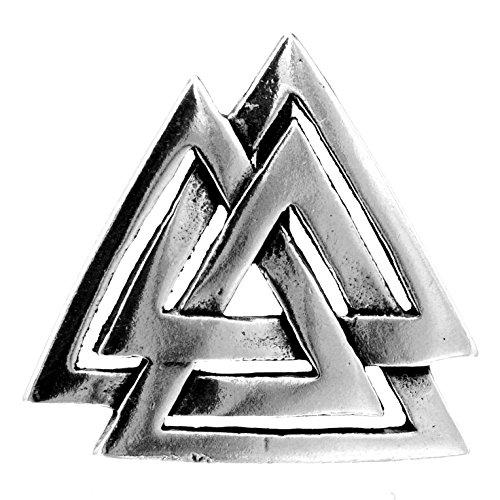 Kiss of Leather Wotansknoten Anhänger aus 925 Sterling Silber Nr. 158