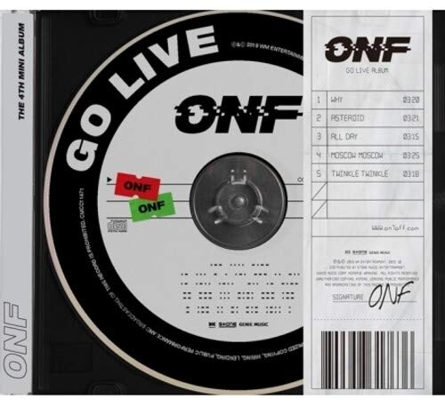 [Album]Go Live:4th Mini Album – ONF[FLAC + MP3]