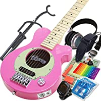 Pignose ピグノーズ PGG-200 PK ピンク アンプ内蔵ミニギター15点セット [98765]【検品後発送で安心】