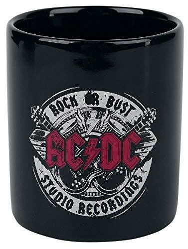 AC/DC Rock Or Bust Studio Recordings Tasse schwarz
