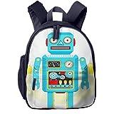 Kinderrucksack Kleinkind Jungen Mädchen Kindergartentasche Spielzeugroboter Wohnung Backpack Schultasche Rucksack