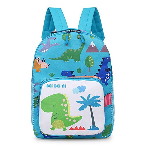 Encantador Mochila niños detrás de dibujos animados de dibujos animados bolsos de la escuela de dinosaurios lindos Mochila ligera para niños pequeños a prueba de agua bolsa de libros para estudiantes