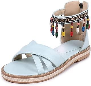 BalaMasa Womens ASL06897 Pu Flats Sandals
