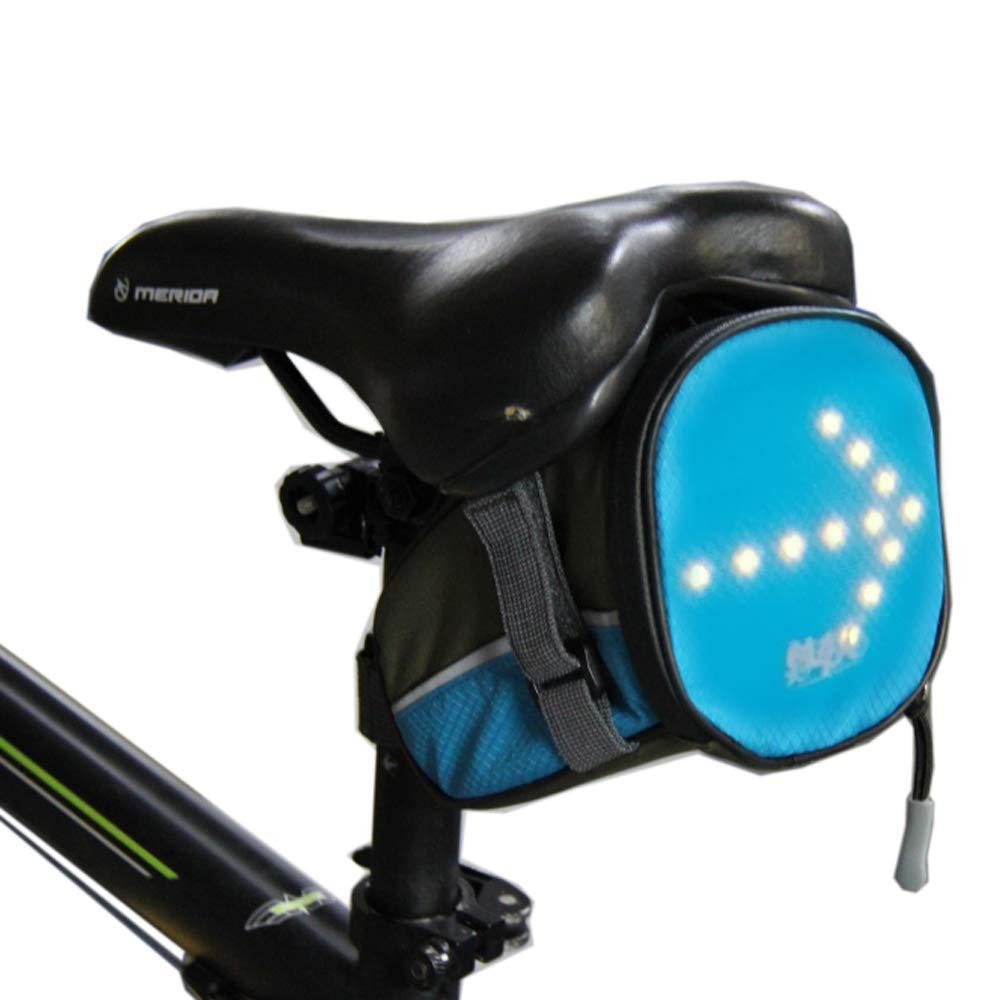 Bolsa de luces LED sillín cola Paquete señal de vuelta para ir en ...