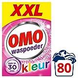 Omo Waspoeder Wast porte en porte école Kleur XXL Voordeelpak 80 wasbeurten