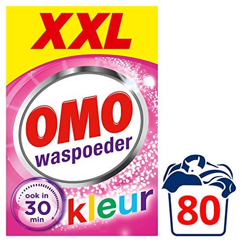 Omo Kleur XXL Waspoeder 80 wasbeurten Voordeelpak - 1 stuk