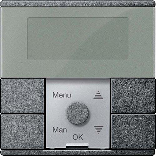 Merten Zeitschaltuhr-Modul MEG5754-0414 anthrazit System M Zeitschaltuhr für Installationsschalterprogramme 4042811185589