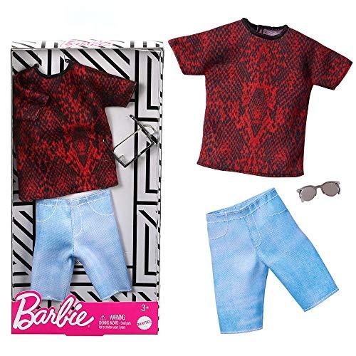 Mattel Streetwear Style | Ken Trend Mode | Barbie GHX50 | Puppen-Kleidung