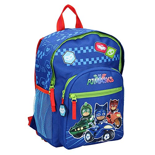 PJ Masks Kinderrucksack - Pyjamahelden Hero Crew - Blau