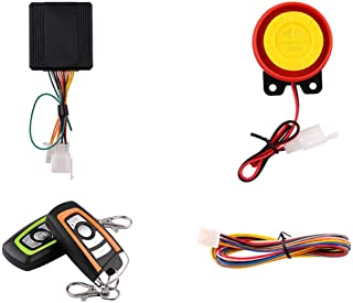 Anti-Theft Security Alarm System,12V Motorcycle Anti Theft Alarm System with Engine Start Remote Control