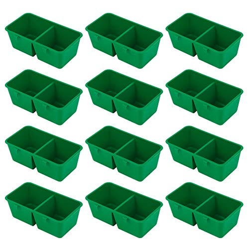 12Pcs Bird Cage Cup Bird Feeder Cups Bird Feeder Bowl Poultry Cage Cup for feeding Birds Parrot Water Food Seed (9.7 * 5.2 * 3.4cm)