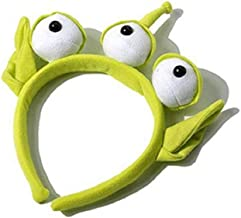 Marery 1 pcs Novelty New Toy Story Alien EARS COSTUME Plush HEADBAND ADULT OR CHILD Party Cosplay Gift
