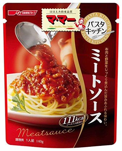 マ・マー パスタキッチン ミートソース 140g×6個