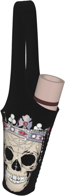 WMLLSNO Las Vegas Mall Yoga Mat Bag Skull Award-winning store Lar Princess and Carrier