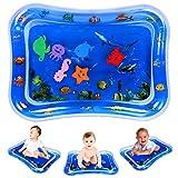 Guiseapue Wassermatte Baby Spielzeug Baby 3 6 9 Monate, Baby Wassermatte Babyspielzeug für Baby Frühe Entwicklung Aktivitätszentren