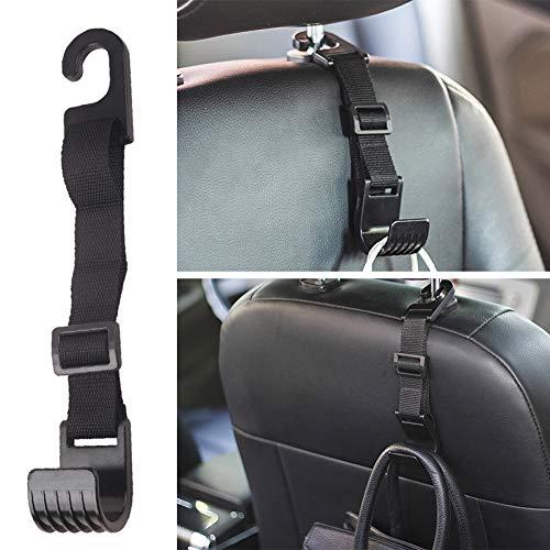 omufipw autositz kopfstützenhaken versenkbar einstellen stark verbreitet autoklebehaken langlebig rücksitz kopfstütze kleiderbügel lagerung für handtaschen