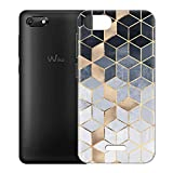 Pnakqil Wiko Harry 2 Phone Case, Transparent Clear with