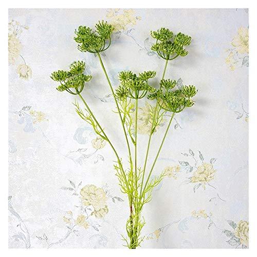 lliang Künstliche Blumen Neue Koreanische Stil Spitze Blume Zweig mit grüne blätter für künstliche Blume anordnung liefert gefälschte Pflanzen (Farbe : 10)