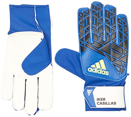 adidas Erwachsene Torwarthandschuhe ACE Junior Iker Casillas, Pantone/Black/Solar Yellow, 9
