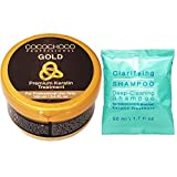 COCOCHOCO Professional Gold Keratin Starter Kit - Gold Keratin Hair Treatment (100 ml)