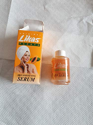 DERMO-EVO EXTREME SERUM 50ML + Original Likas Papaya Skin Whitening Lightening Herbal Soap
