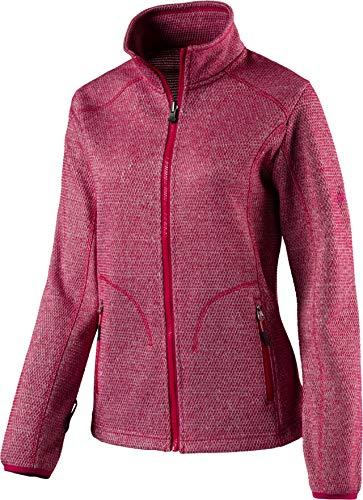 McKINLEY Damen Fleece-Jacke Temuco Zip-in System, Red Wine, 40