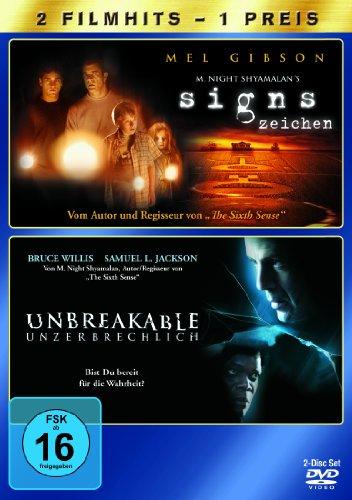 Signs - Zeichen / Unbreakable - Unzerbrechlich [2 DVDs]