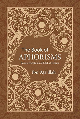 The Book of Aphorisms: Being a translation of Kitab al-Hikam Sufism