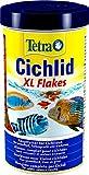 Tetra Cichlid XL-Flakes (Hauptfutter für alle gröߟeren Cichliden), 500 ml Dose