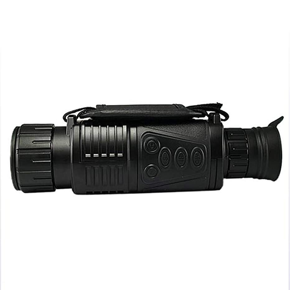 LQSTRAY Infrared Night Vision Telescope Night Vision Single-Barrel Professional Photo and Video Dual-use Telescope with 8gb Memory Card