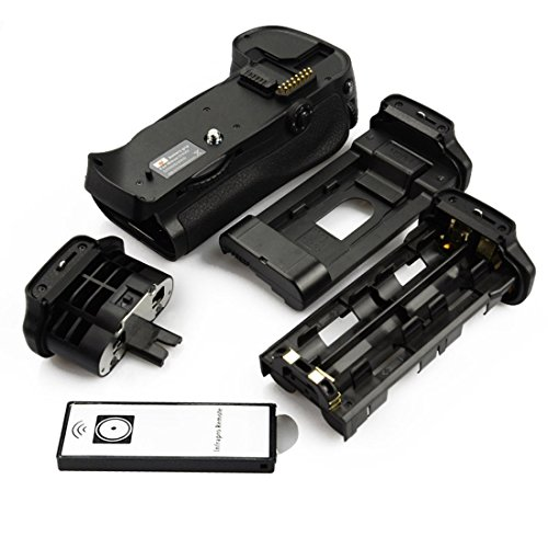 DSTE Remoto Vertical Batería Apretón Titular para Nikon D700 D300 D300S D900 DSLR Cámara Fotográfica como MB-D10
