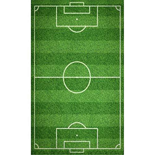Carbotex Toalla para niños con diseño del estadio de fútbol (30 x 50 cm)