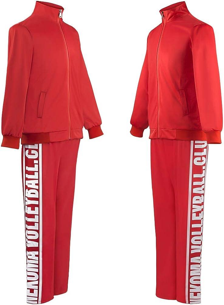 Nekoma High Jersey Cosplay Jacket Kozume Kenma Uniform Tetsurou Kuroo Costume Volleyball Sportswear Jersey