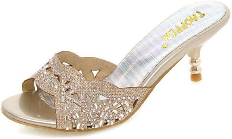 XIATI New Summer Peep Toe Sexy Fashion Women Sandals Thin Heel Pumps