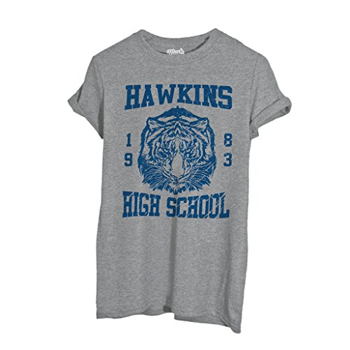 MUSH T-Shirt Hawkins High Shool Stranger Things - Film by Dress Your Style - Donna-S-Grigio