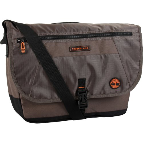 Timberland Luggage Twin Mountain 40,6 cm Messenger Bag, Cocoa, Einheitsgröße