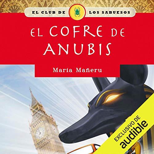 Diseño de la portada del título El cofre de Anubis