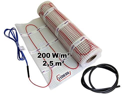 buenos comparativa EXTHERM – estera de radiador de 2 hilos, superficie 2,5 m² – suelo radiante … y opiniones de 2021