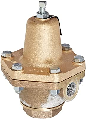 "Cash Valve 2770-0075 Bronze Pressure Regulator, 30 - 125 PSI Pressure Range, 1/2"" NPT Female by Tyco Valves & Controls"