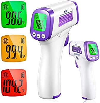 XDX Digital Infrared Thermometer Non Contact Touch with LCD Display